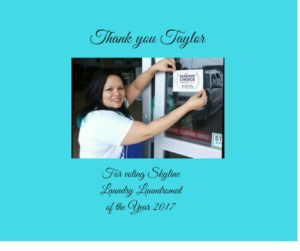 Laundromat of the Year 2017 Taylor Texas