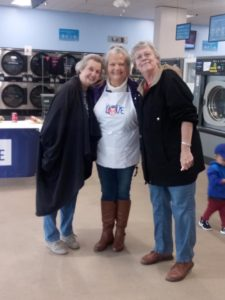 Volunteers for Laundry Love.
