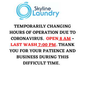 New hours due to coronavirus
